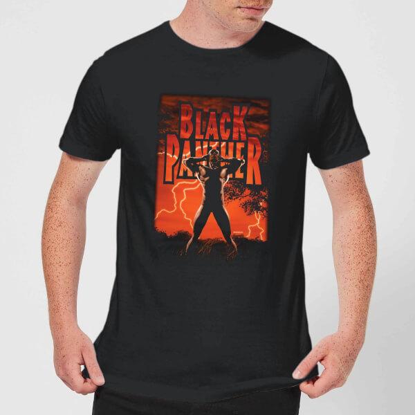 Marvel Universe Wakanda Lightning Men's T-Shirt - Black - XXL - Noir chez Zavvi FR image 5059478948906