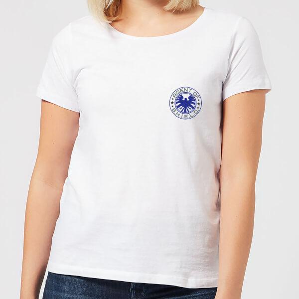 Marvel Avengers Agent Of Shield Women's T-Shirt - White - XXL - Blanc chez Zavvi FR image 5059478960182