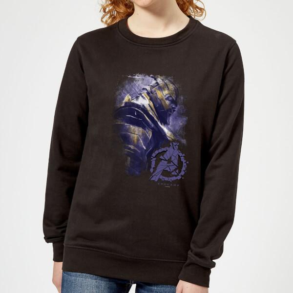Sweat-shirt Avengers Endgame Thanos Brushed - Femme - Noir - XL - Noir chez Zavvi FR image 5059478963749