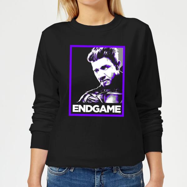 Avengers Endgame Hawkeye Poster Women's Sweatshirt - Black - 5XL - Noir chez Zavvi FR image 5059478966306