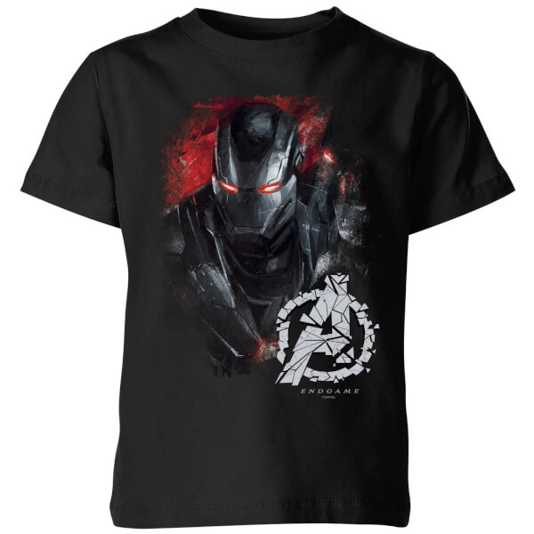 T-shirt Avengers Endgame War Machine Brushed - Enfant - Noir - 11-12 ans - Noir chez Zavvi FR image 5059478969406