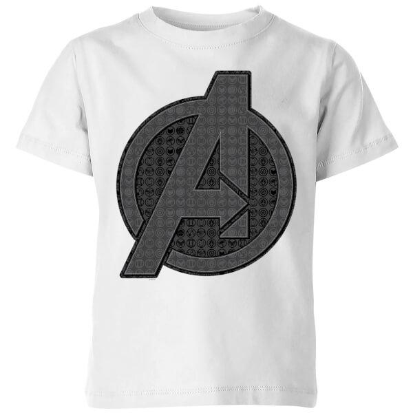 T-shirt Avengers Endgame Iconic Logo - Enfant - Blanc - 11-12 ans - Blanc chez Zavvi FR image 5059478970358