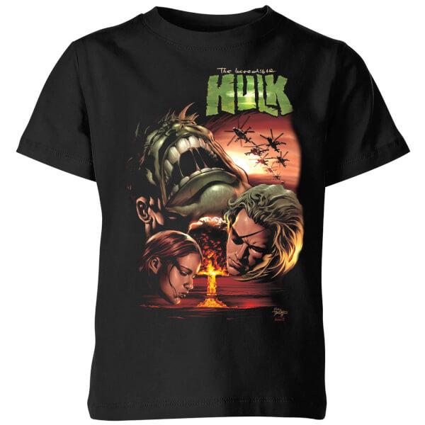 Marvel Incredible Hulk Dead Like Me Kids' T-Shirt - Black - 11-12 ans - Noir chez Zavvi FR image 5059478971003