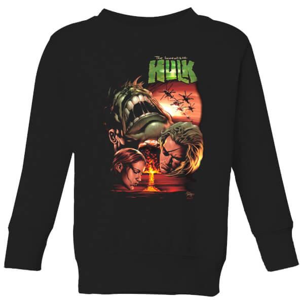 Marvel Incredible Hulk Dead Like Me Kids' Sweatshirt - Black - 11-12 ans - Noir chez Zavvi FR image 5059478972109