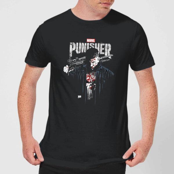Marvel Frank Castle Men's T-Shirt - Black - XXL - Noir chez Zavvi FR image 5059479188936