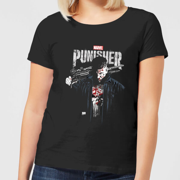 Marvel Frank Castle Women's T-Shirt - Black - XXL - Noir chez Zavvi FR image 5059479190151