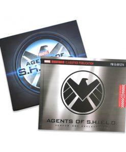 Marvel's Agents of SHIELD Declassified Slipcase Hardcover S01 chez Zavvi FR image 9780785189985