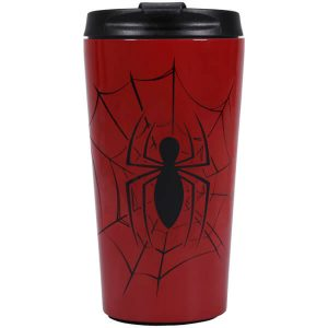 Marvel Spider-Man Travel Mug chez Zavvi FR image 5055453463983